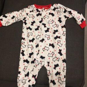 Adorable Carter's brand doggie pajamas